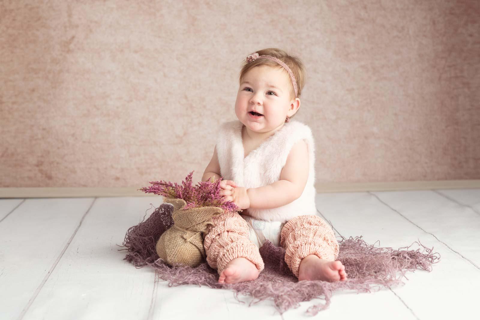 Babyfotograf München: Babyfotos zu Hause