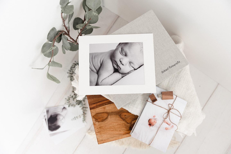 Kinderfotografie München Passepartout-Box