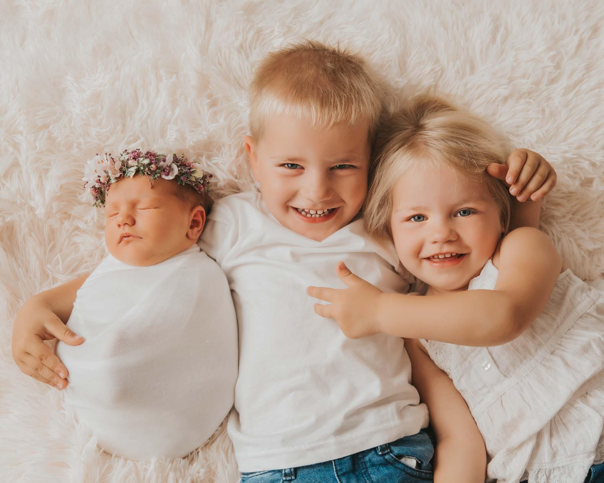 Kinderfotografie München: Geschwister-Kinder